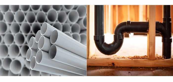 What is the difference between PVC pipe and ABS pipe