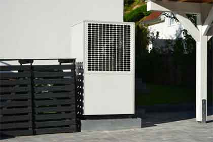 What are the types of Combustion Air vent systems