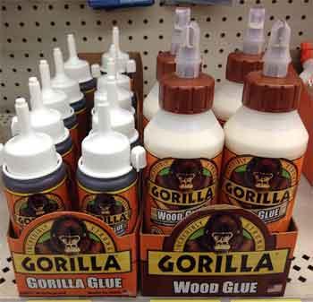 How does Gorilla glue work
