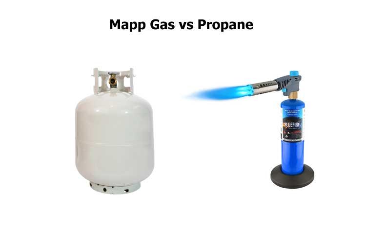 Mapp Gas vs Propane