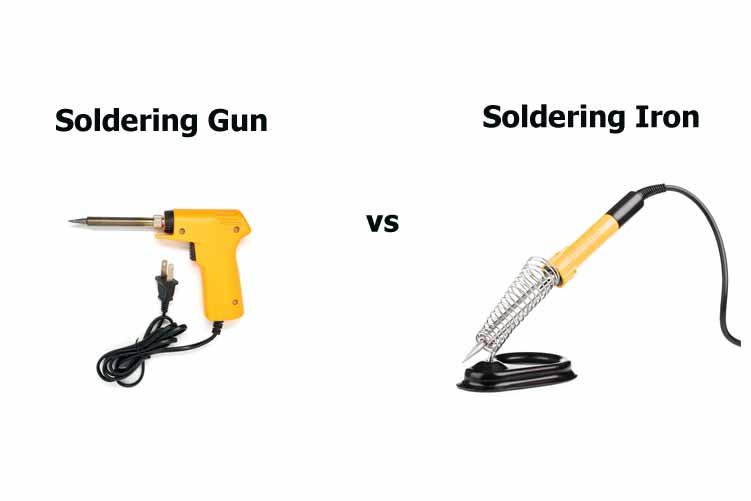 Soldering Gun vs Iron