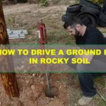How to Drive a Ground Rod in Rocky Soil?